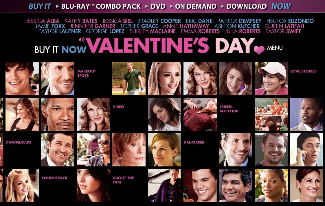 день святого Валентина фильмы