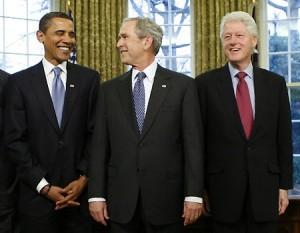 Обама - Буш - Клинтон