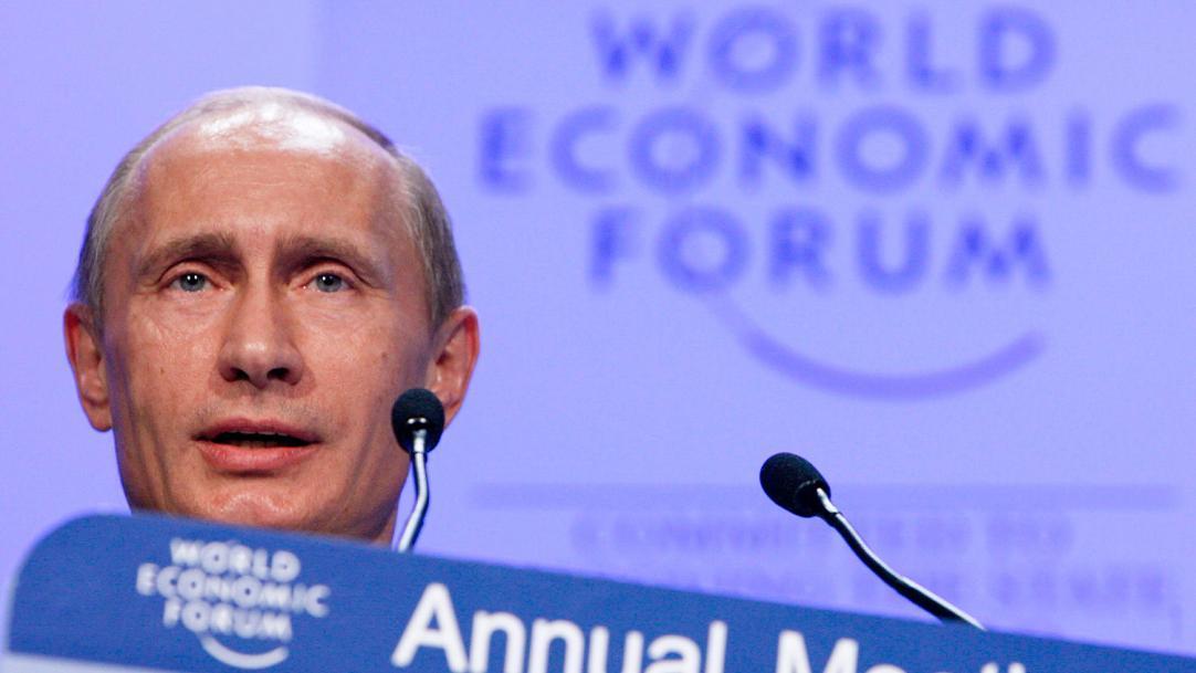 Выступление Владимира Путина в Давосе
