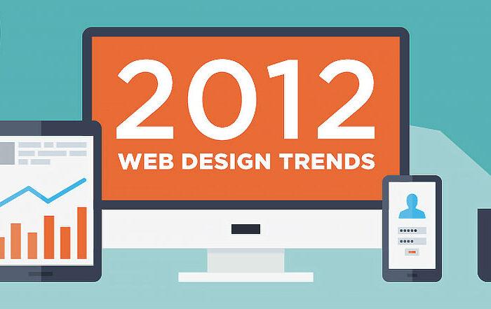 Тренды веб-дизайна 2012