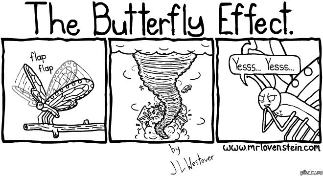 Эффект бабочки в маркетинге