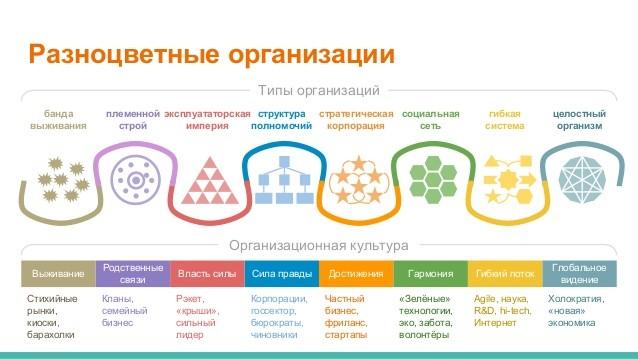 Разноцветные организации