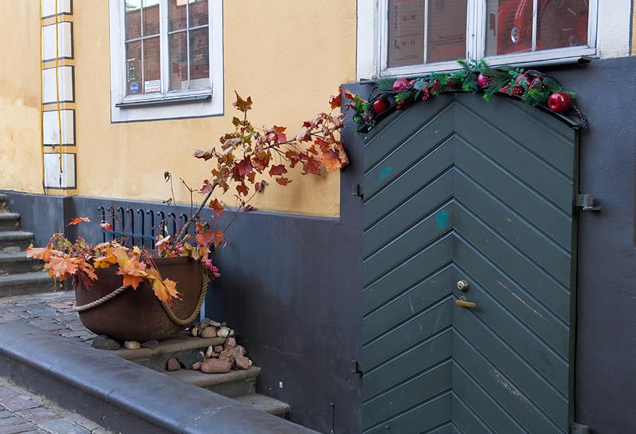 Рига Латвия осень