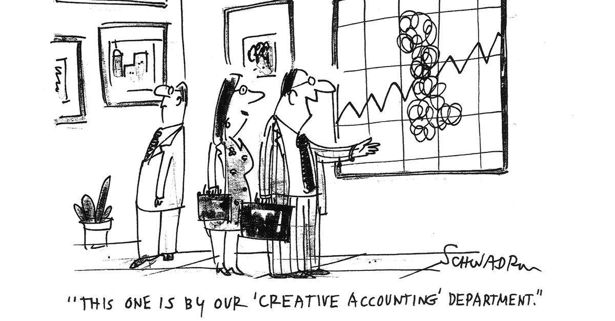 Креативный учет и балансовая политика