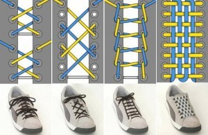 последовательность шнуровка
