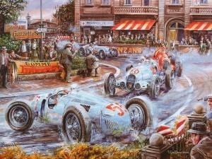 Вацлав Западлик (Vaclav Zapadlik) — чешский автомобильный художник, которого интересуют только старинные автомобили (вплоть до мельчайших деталей), их особенности и история.