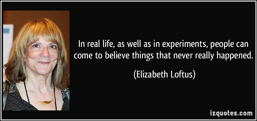 Элизабет Лофтус