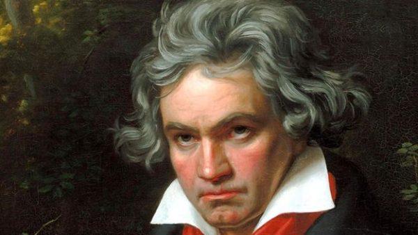 Image copyrightSHIZHAO/WIKIMEDIA COMMONS Бетховен легко выходил из себя и швырялся вещами в своих слуг