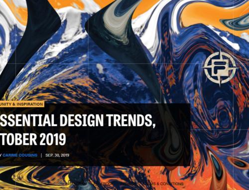 3 основных тренда в веб-дизайне: октябрь 2019