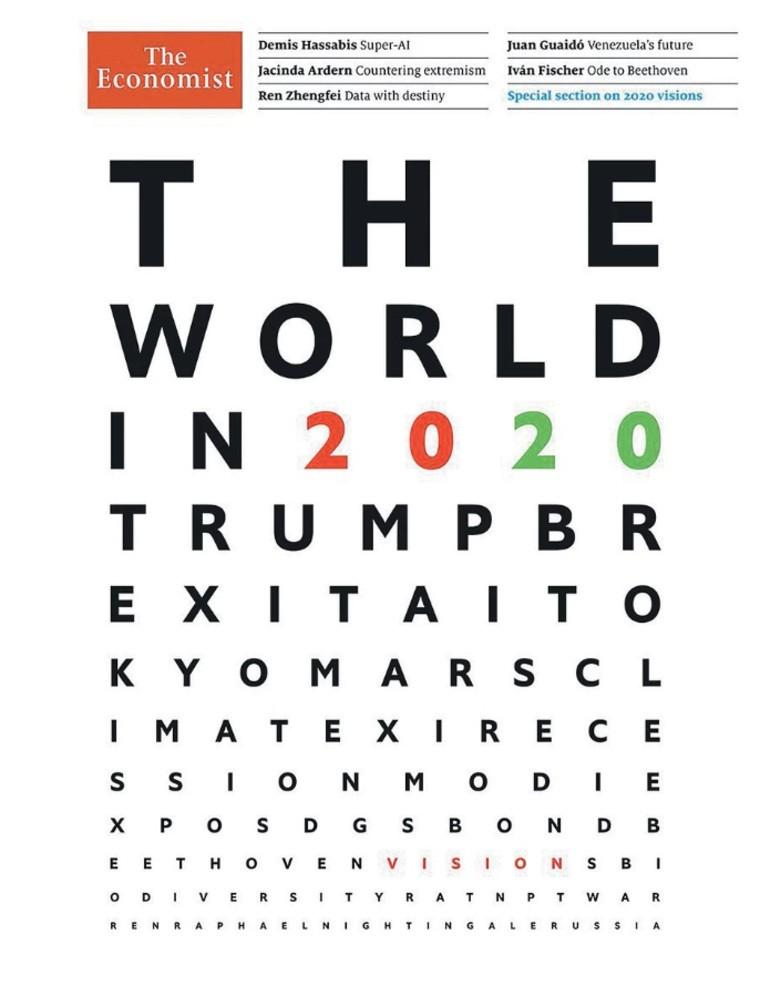Прогноз-2020 The Economist