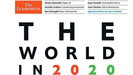 Расшифровка обложки The Economist на 2020